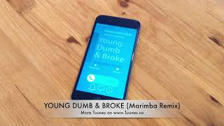 Young Dumb & Broke Ringtone (Khalid Tribute Marimba Remix Ringtone) • For iPhone & Android