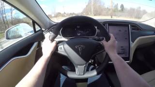 What It's Like To Drive A Tesla Model S P100D!