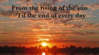 PRAISE ADONAI (LYRICS)