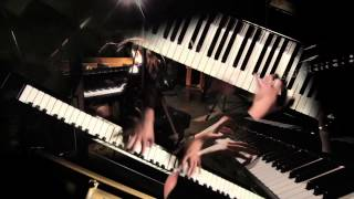 """Rachmaninoff on 12""""2 piano - one of the largest in the world - Prelude played by Yana Reznik"""