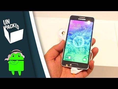 نظرة سريعة على الجالاكسي ألفا | Samsung GALAXY Alpha Hands-on