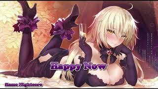 Happy now [Nightcore]