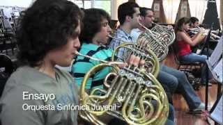 Ensayo, Orquesta Sinfónica Juvenil 2012 - 40 Años del INM