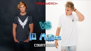 LOGAN PAUL VS JAKE PAUL 10 MIL SUB COUNTDOWN Jake Paul - YouTube Stars Diss Track Team10