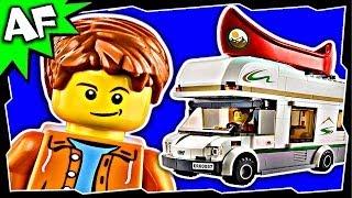 Lego City CAMPER VAN 60057 Stop Motion Build Review