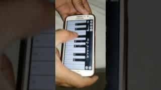 Jadu teri nazar my mobile piano