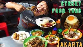 10X SPICY Instant Noodle INDOMIE Goreng: Jakarta Indonesia Street Food Tour width=