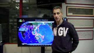 I terremoti dell'11 maggio 2011 - Ultimo collegamento dalla Sala Sismica INGV
