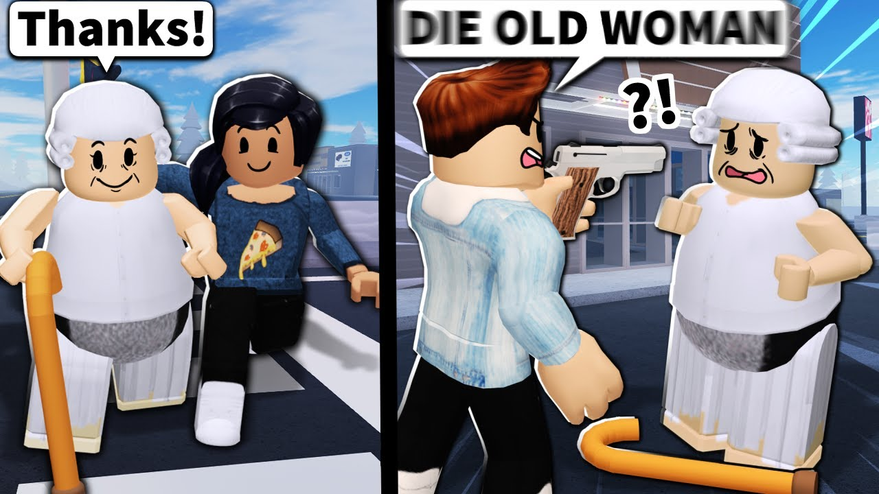 Flamingo - Would you help or HURT this Roblox grandmother?
