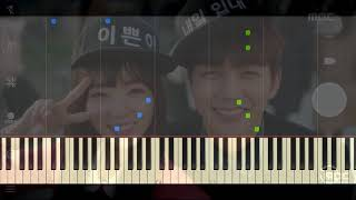 Kim Yeonji (김연지) - Words of my Heart (I'm Not a Robot OST Part 3) | Piano Tutorial (Synthesia)