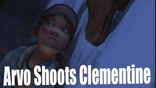 The Walking Dead Season 2 Episode 5 Arvo Almost Kills Clementine