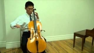 Bach Cello Suite No. III in C Major, BWV 1009 Praeludium