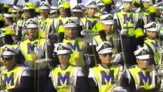 Michigan Marching Band: 1987 - 'Blues Brothers'
