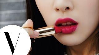 好喜歡!韓系桃紅唇這樣畫   3分鐘就美麗   彩妝教學