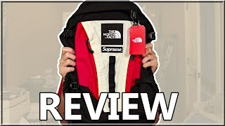 Supreme x The North Face Expedition Backpack Review (Red)