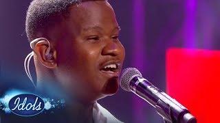 Top 16 Group Two: Mthokozisi's epic throwback | Idols SA Season 13