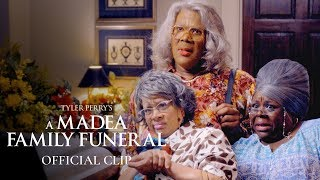 """Tyler Perry's A Madea Family Funeral (2019 Movie) Official Clip - """"Funeral Home"""""""