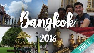 THAILAND | BANGKOK TRAVEL VLOG 2016 [PART 1]