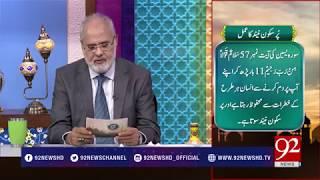 Quote: Hazrat Ali R.A - Subh e Noor- 21 March 2018 - 92NewsHDPlus