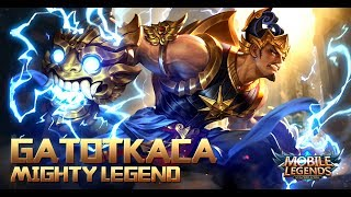 Mobile Legends: Bang bang! New Hero |Mighty Legend Gatotkaca| Gameplay