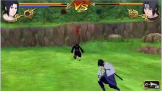 naruto shippuden legends akatsuki rising SASUKE VS ITACHI