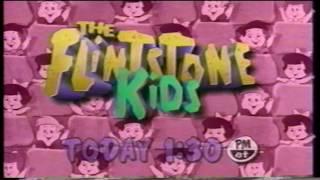 Flintstone Kids Cartoon Network Promo TV Commercial