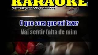 Karaokê ESTRANHA LOUCURA Alcione Play back completo