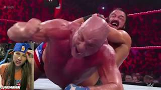 WWE Raw 11/5/18 Kurt Angle vs Drew McIntyre