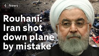 "Iran admits to ""unintentionally"" shooting down passenger plane"