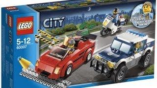 Unboxing Lego City Verfolgungsjagd 60007