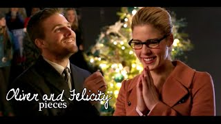 oliver & felicity | pieces [+4x09]