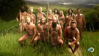 Tirando a roupa na África    Largados e Pelados - A Tribo