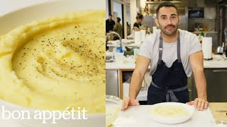 Andy Makes Ultra-Creamy Mashed Potatoes | Bon Appétit