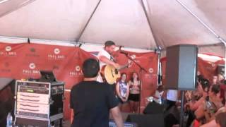 Island of the misfit boy - Front Porch Step (live) warped tour 2014