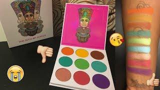 Juvia's Place 'Zulu' Eyeshadow Palette - LIVE SWATCHES | WOC