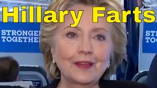 Hillary Clinton Farts and Burps --  Ronald Klump Smells it.
