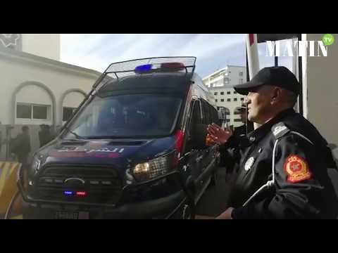 Video : Fêtes de fin d'année : Mobilisation de la DGSN à Casablanca