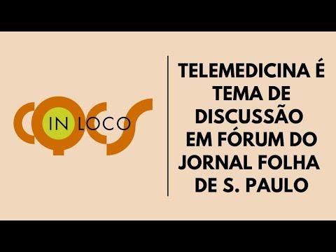 Imagem post: Telemedicina é tema de discussão em fórum do jornal Folha de S. Paulo