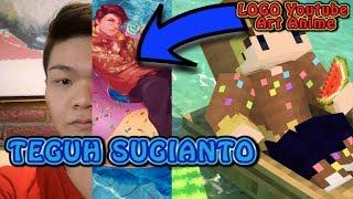 Logo Channel Youtube Teguh Sugianto menjadi ANIME KEREN!!!