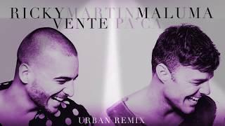 Maluma Vente Pa' Ca (Remix)[Cover Audio] ft Ricky martin