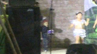 Juan Diego Ibañez Aquino en plena serenata en Huarmaca 2013