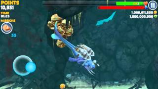 Hungry  Shark Evolution Hacked Gameplay