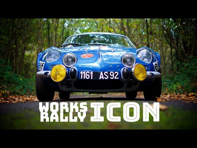 Works Rally Icon - Alpine A110
