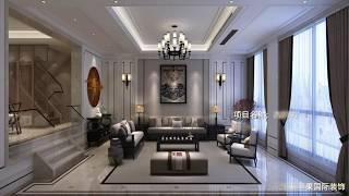 无锡古韵坊380平四室三厅四卫,新中式风格装修设计装饰效果图