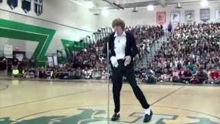 Kid Wins Talent Show Dancing to Michael Jackson's Billie Jean width=