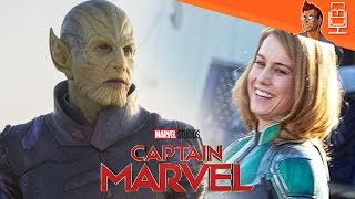 Captain Marvel slammed for Bad CG & More Nonsense
