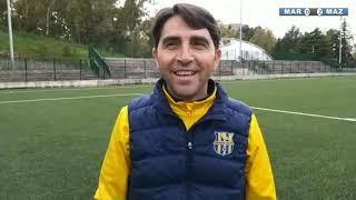 MARINEO - MAZARA 0-2 INTEVISTA ALLENATORE DINO MARINO