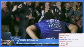 THUGGERY K-Brad Pop Off on Wolfkrone at Final Round 20