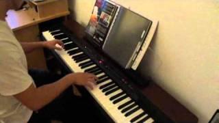 Kyo dernière danse Piano - cover