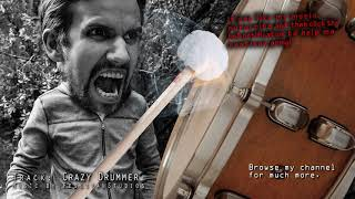 The Crazy Drummer - Epic Cinematic Background Music for videos - Dark Dramatic soundtrack score